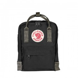 MOCHILA KANKEN MINI NEGRO Y GRANATE OX RED