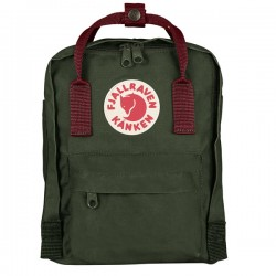 MOCHILA FJALLRAVEN KANKEN MINI FOREST/OX RED
